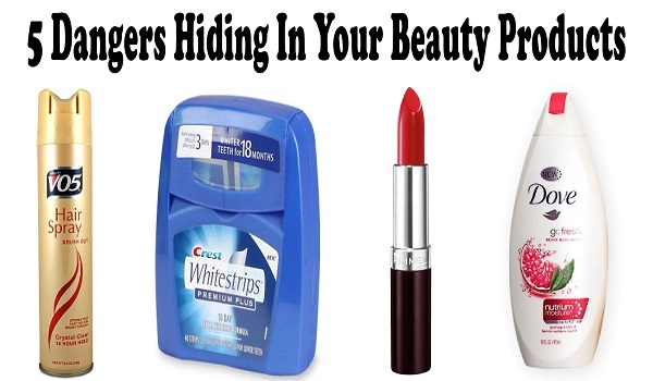 5 Dangers Hiding In Your Beauty Products