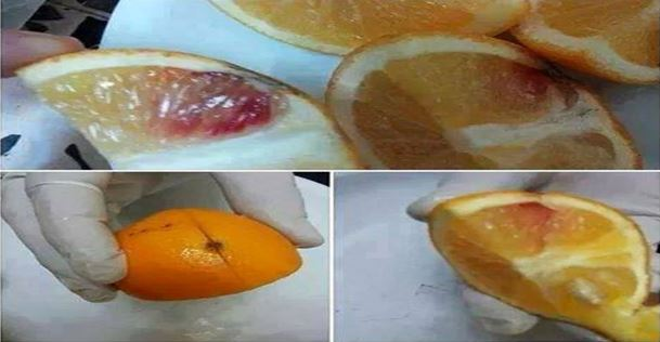 Blood Oranges from Libya Were Injected with HIV Blood