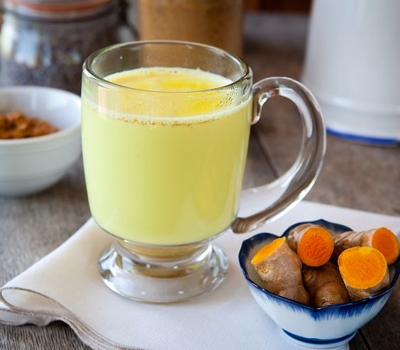 Coconut Milk And Turmeric Drink - Powerhouse Detox and Anti-Inflammatory