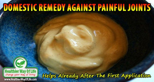 Domestic Remedy Against Painful Joints