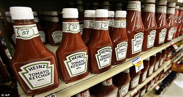 Heinz Ketchup Banned