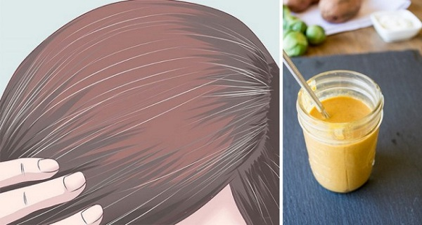 How To Return The Natural Color Of The Hair And Reverse The Grey Hair Naturally