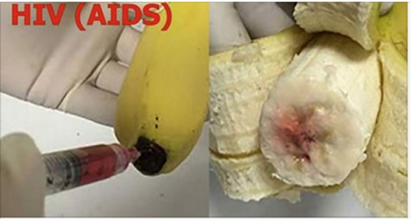 Shocking Are BANANAS Being INJECTED with HIV virus