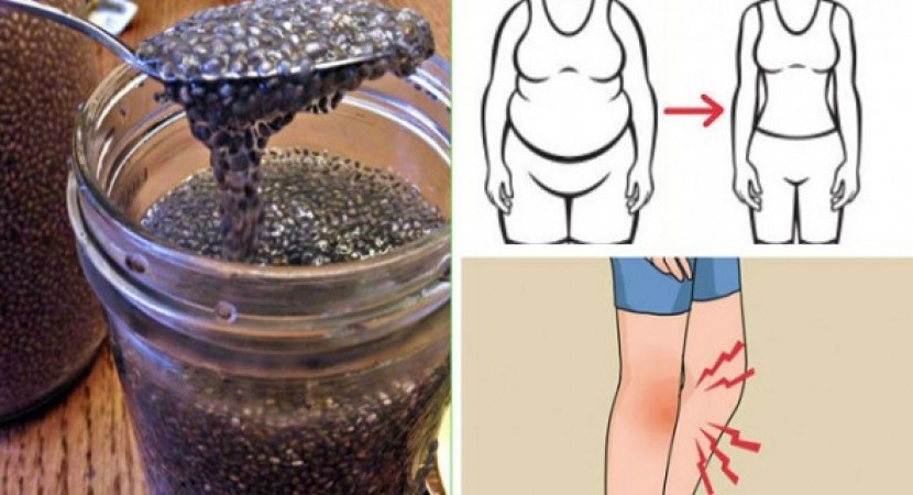 Soak Chia Seeds To Supercharge Their Metabolism, Weight Loss And Inflammation - Fighting Like Never Before