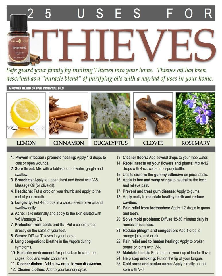 The Best Uses for Thieves Essential Oil and How to Make It