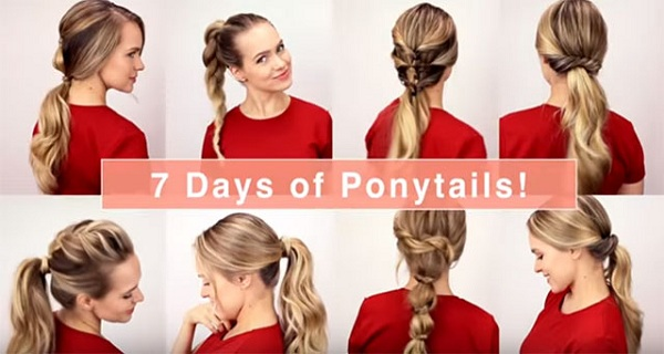 VIDEO-7 Easy Hairstyles for Each Day of the Week