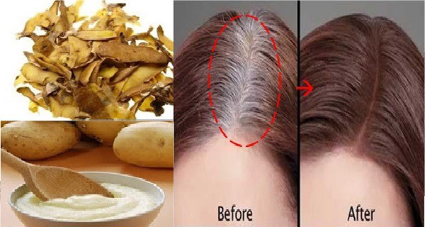 WANT TO GET RID OF YOUR WHITE-GRAY HAIR FOR GOOD - THERE IS A WAY