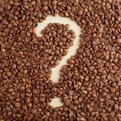 Coffee Bean Question Mark