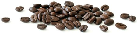 Coffee Beans Spread Horizontally