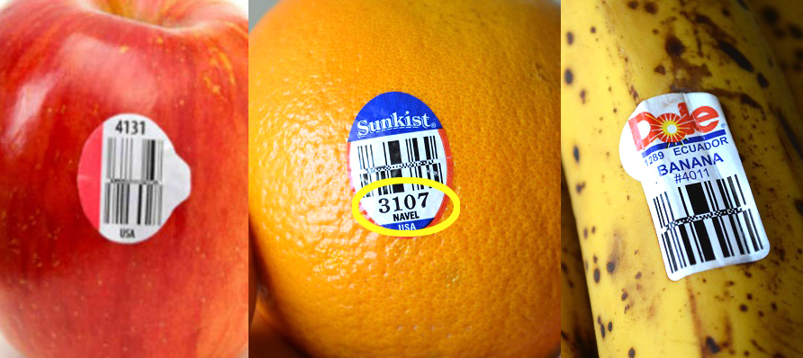 Have You Ever Noticed The Stickers With Numbers On Them At Grocery Store! THIS Is What It Means!
