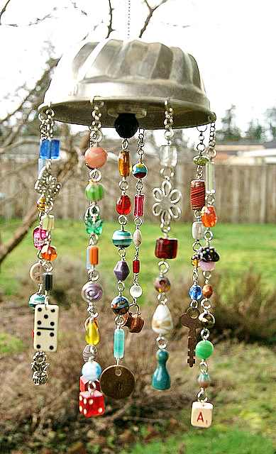 board game wind chime