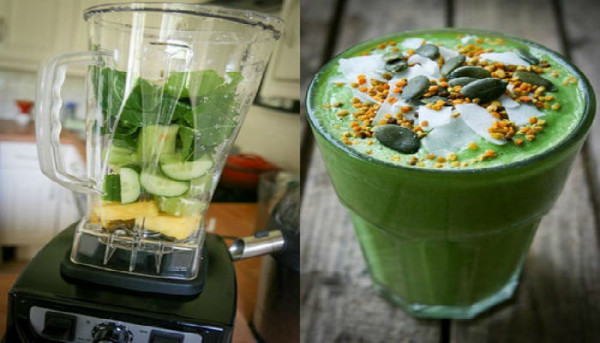 Avocado-Ginger-Lemon Breakfast Smoothie Recipe to Fight Cancer, Burn Fat and Remove Heavy-Metals From Your Body!