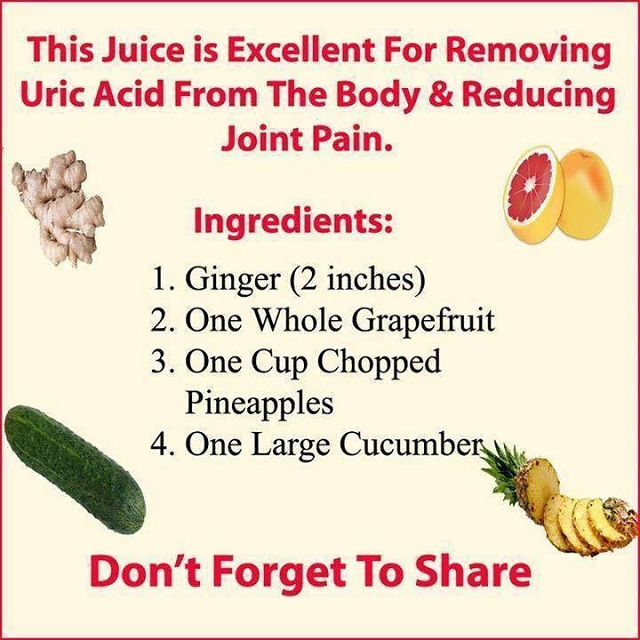 Remove Uric Acid From Your Body