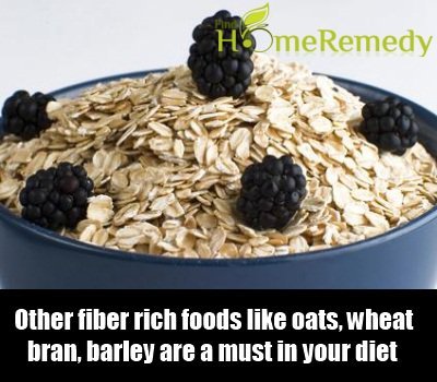 Other fiber rich foods